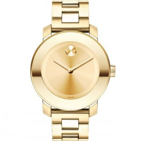 dong ho Movado Bold 3600085 Champagne Gold Women's Watch 36mm