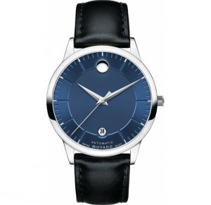 đồng hồ Movado 1881 Automatic 0606874 Blue Dial Men's Watch 40mm