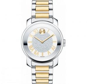dong ho Movado Bold 3600256 Two-Tone Women's Watch 32mm