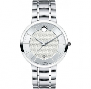 đồng hồ MOVADO 1881 AUTOMATIC SILVER MEN'S WATCH 39.5MM