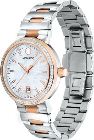 Movado Vizio Women's Two-toned Bracelet Watch 34mm