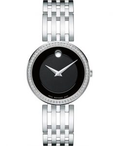 dong ho MOVADO Esperanza Matte Black Ladies Watch 28mm
