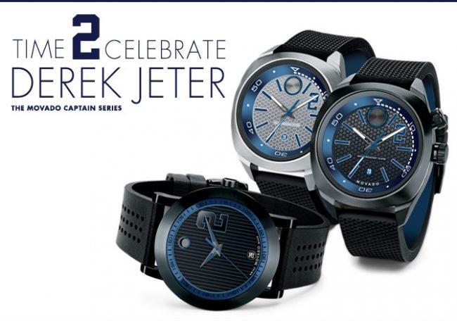 banner Bộ sưu tập đồng hồ Movado Derek Jeter Captain Series