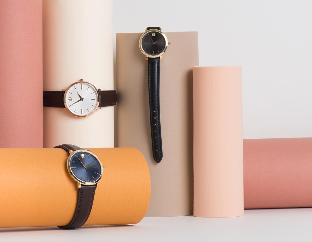 banner đồng hồ movado ultra slim