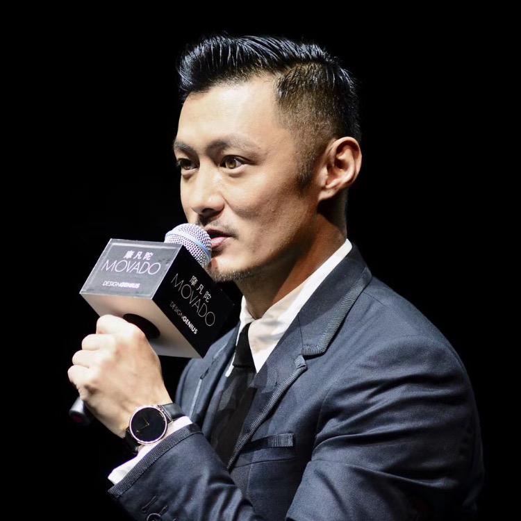 Diễn viên, ca sĩ Shawn Yu tại sự kiện Movado ở Thượng Hải vào ngày 7 tháng 9, anh đang đeo chiếc đồng hồ Movado kỷ niệm lần thứ 70