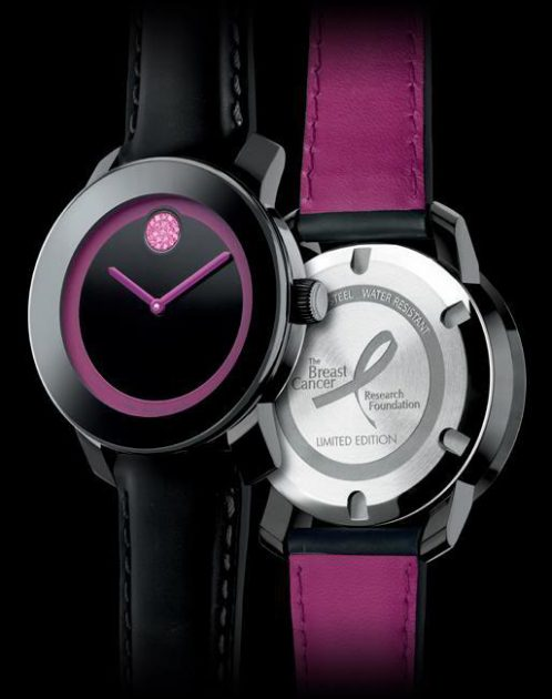 Đồng hồ Movado BOLD phiên bản Breast Cancer Research Foundation