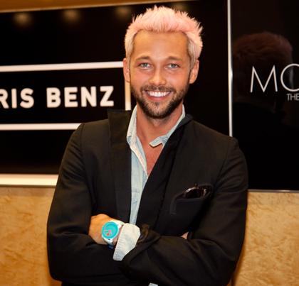 Nhà thiết kế thời trang nổi tiếng Chris Benz