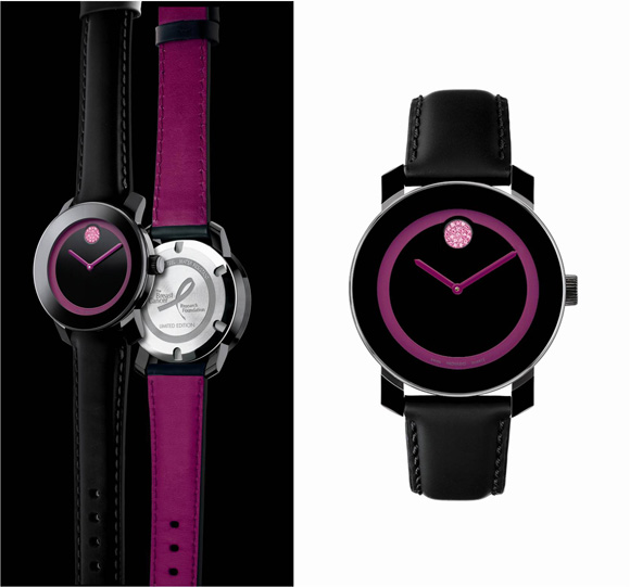 Đồng hồ Movado BOLD phiên bản Breast Cancer Research Foundation