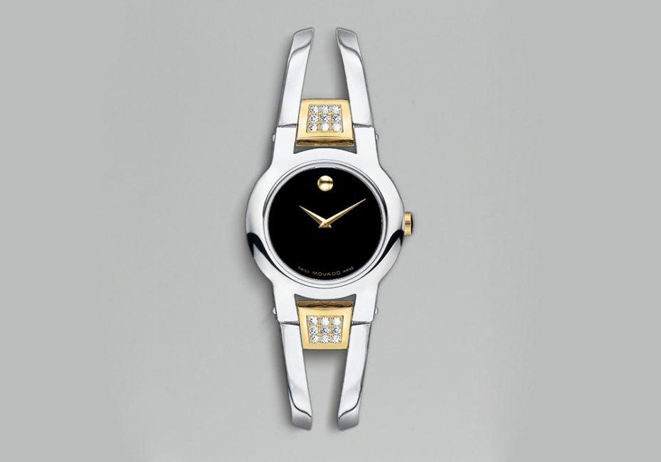 đồng hồ nữ movado amorosa diamond