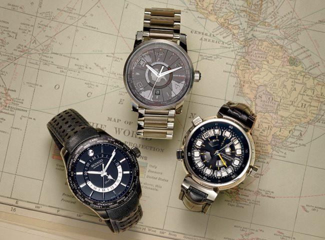 Đồng hồ Movado Series 800 World Timer
