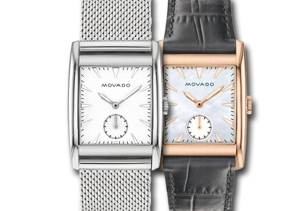 đồng hồ Movado Heritage Series Rectangle Dial