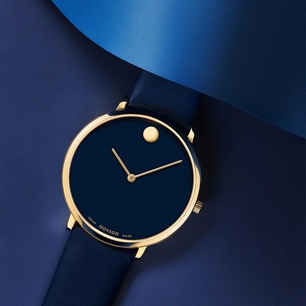 Đồng hồ Movado NGH blue navy
