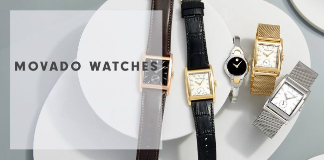 BST đồng hồ Movado Heritage Series Rectangle Dial