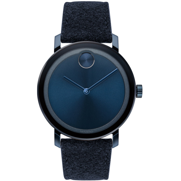 Đồng hồ Movado Bold Blue Ion-Plated 3600613 Watch 40mm