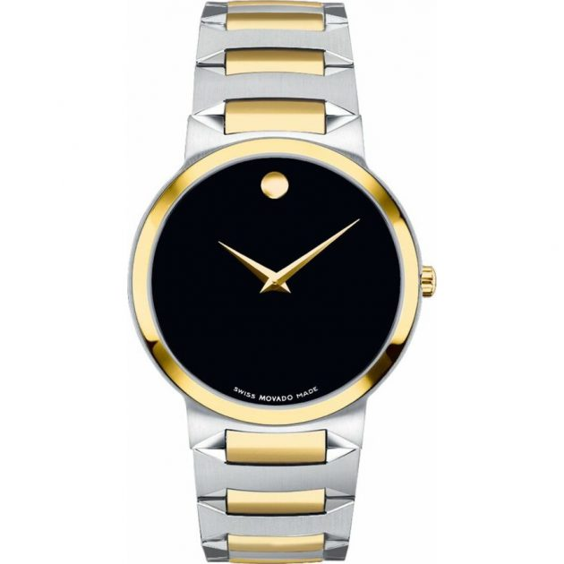 Movado 0606952 Temo Black Men's Watch 39mm