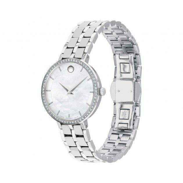 đồng hồ nữ Movado kim cương 0607325