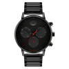 Movado 3640041 Face Black Men's Watch 41mm