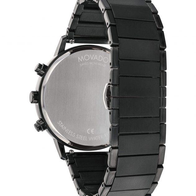 Movado 3640041 Face Black Men's Watch 41mm