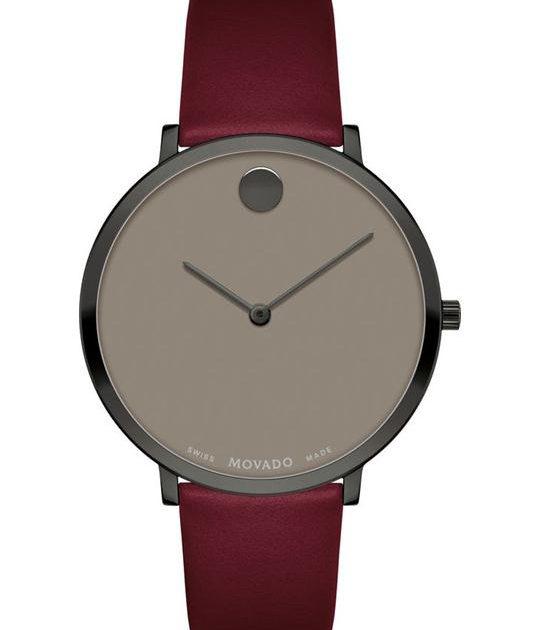 Movado Modern 47 Bordeaux Watch 35mm