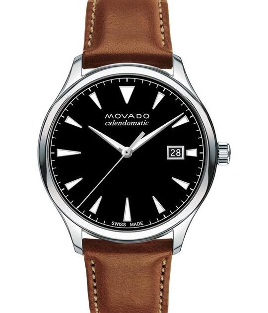 Movado Heritage Brown Watch 40mm