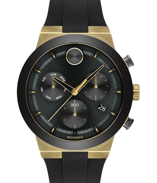 Movado Bold Evolution Chronograph Watch 44.5
