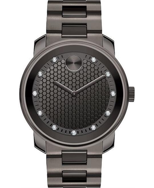 Movado Bold Gunmetal Watch 42.5mm
