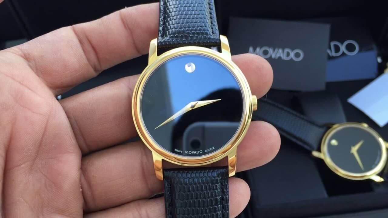 nhận biết đồng hồ movado chính hãng