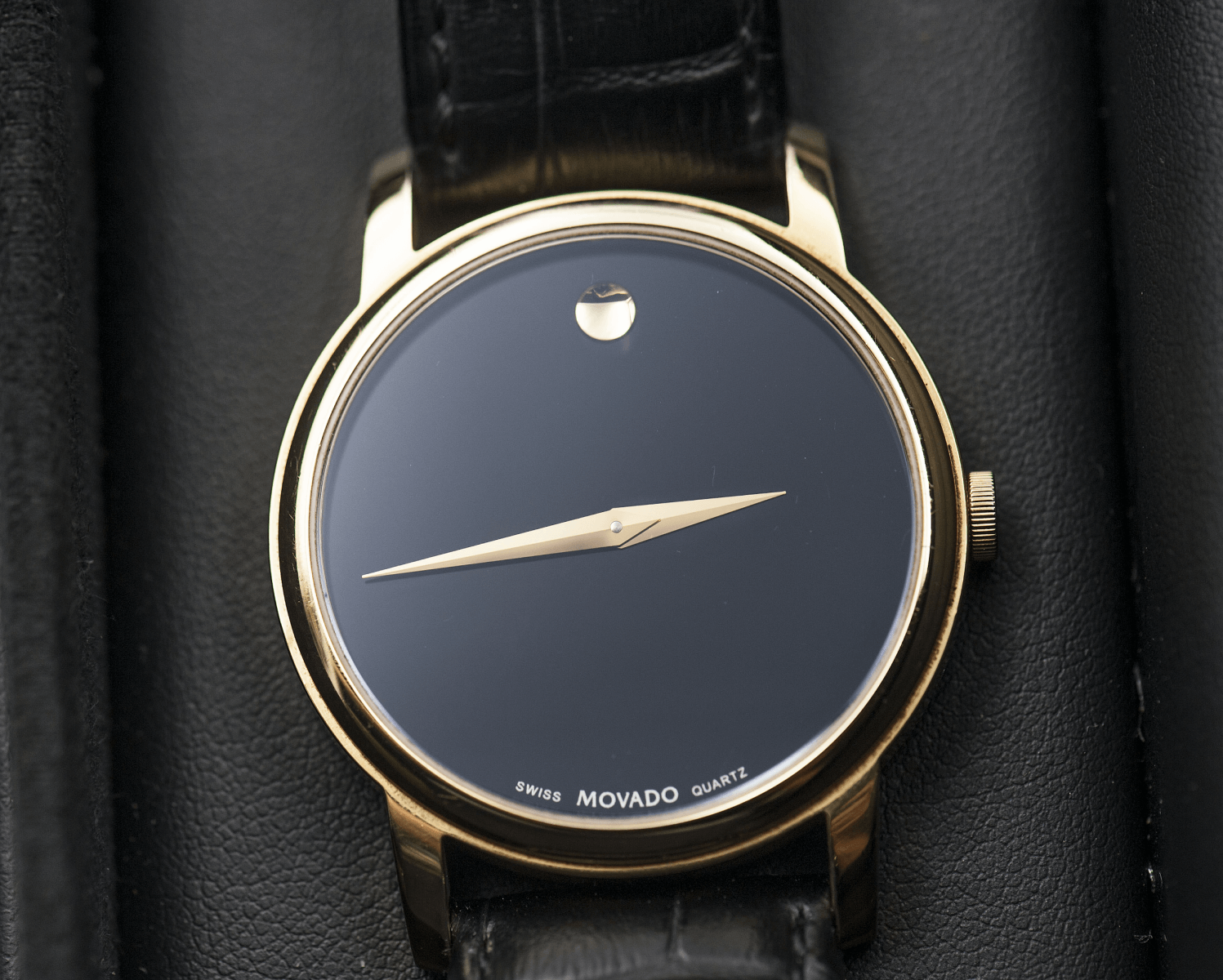 mặt số đồng hồ movado giả